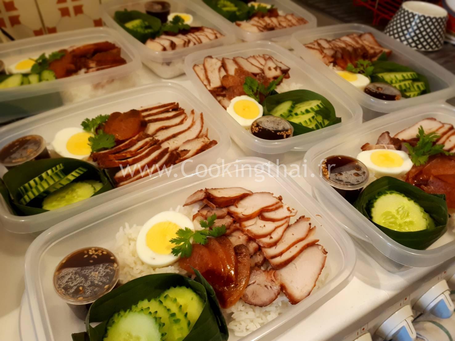 La gamelle : Porc barbecue sauce 5 épices (style chinois)