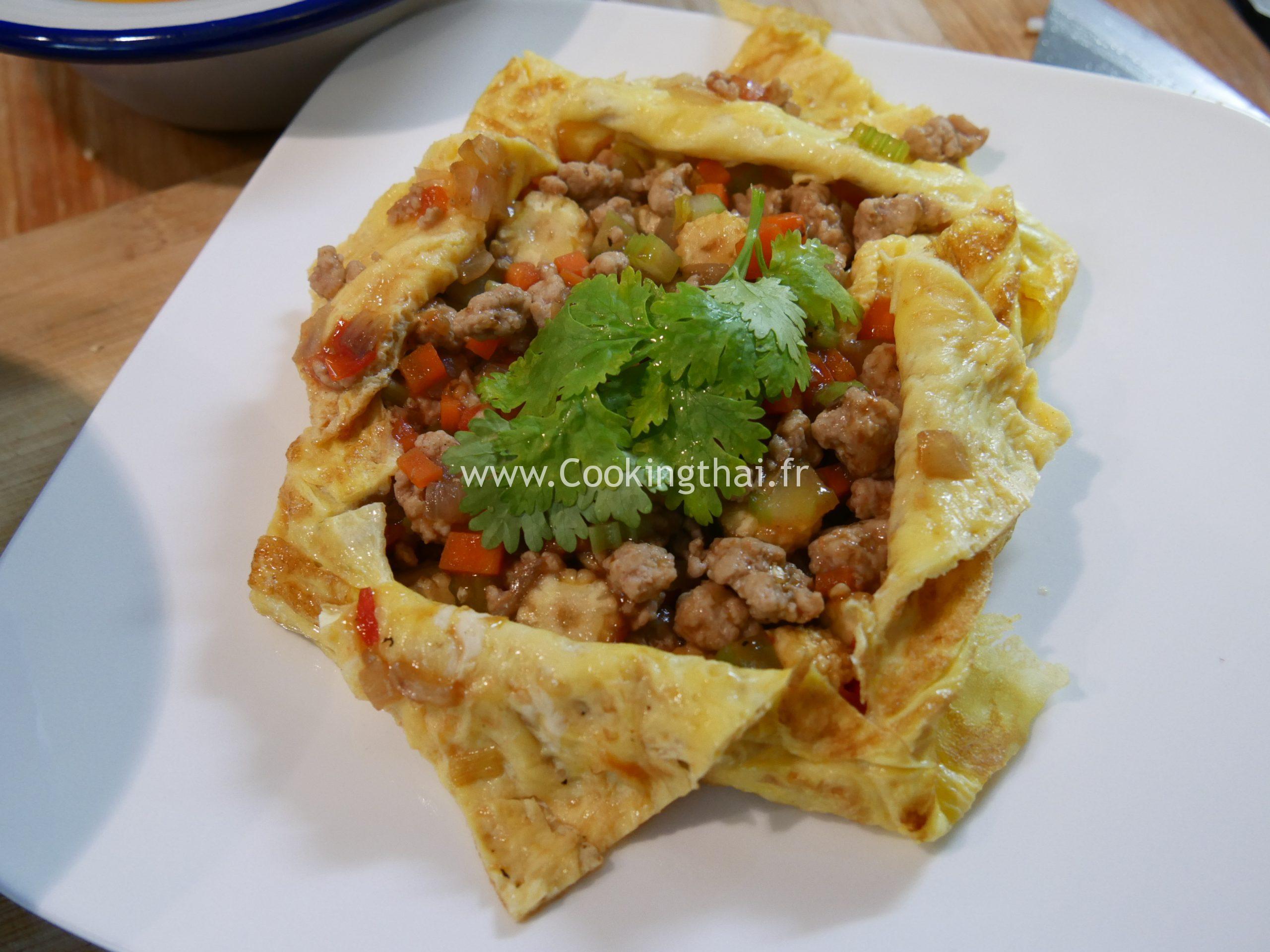 omelette farice thai